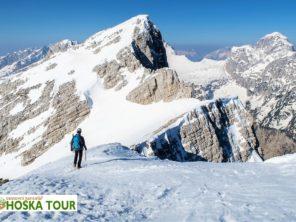 Hotel Špik - zima v Julských Alpách