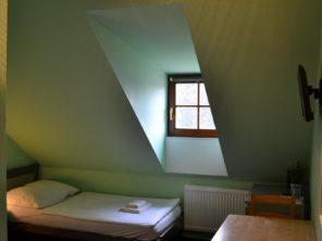 Hotel Antoň Telč - podkrovní pokoj