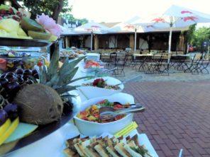 Hotel Galant Lednice - zahradní restaurace
