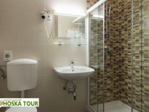 Hotel Krim Bled - koupelna