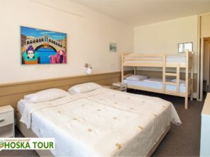 Hotel Krim - rodinný pokoj
