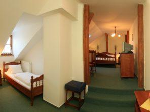 Hotel Praha Boží Dar - pokoje