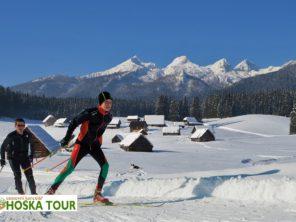 Julské Alpy - běžecké lyžování