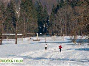 Julské Alpy - lyžování na běžkách Slovinsko