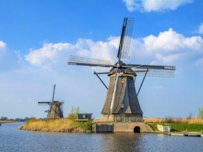 Kinderdijk – skanzen větrných mlýnů