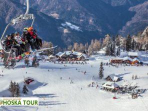Krvavec - lyžování ve Slovinsku