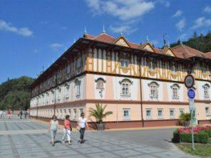 Lázeňský hotel v Luhačovicích