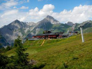 Lanovka Goldried Bahn nad Matrei in Osttirol
