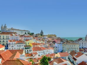 Lisabon - čtvrť Alfama