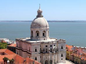 Lisabon - Kostel svaté Engrácie