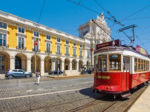 Lisabon - tramvaj