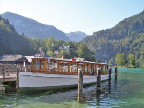 Loďky na jezeře Königsee