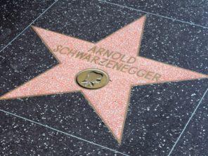 Los Angeles - Hollywoodský chodník slávy
