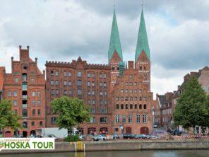 Lübeck - historické centrum