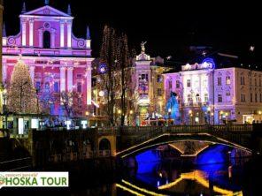 Lublaň - adventní zájezd