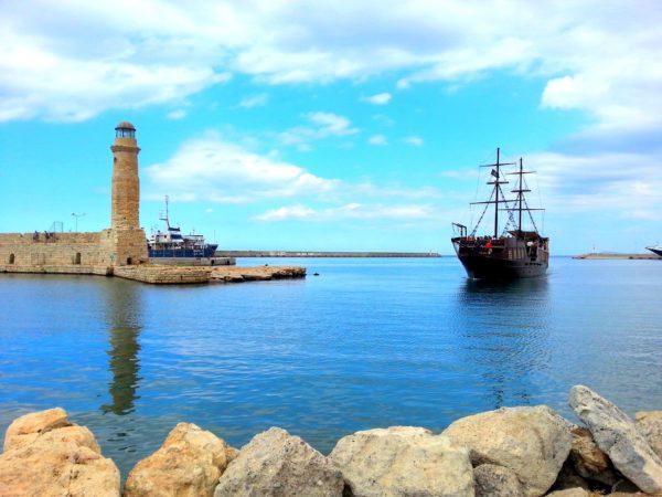 Město Rethymno - přístav