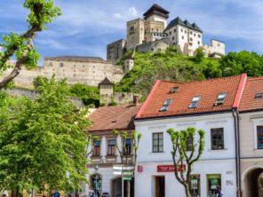 Město a hrad Trenčín