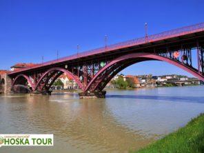 Maribor - most přes řeku Dráva