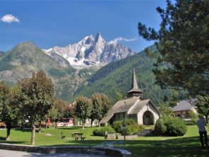 Masiv hory Mont Blanc