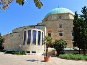 Mešita ve městě Pécs