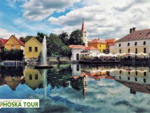Město Topolca - cyklistika u Balatonu