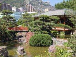 Monaco - Japonská zahrada