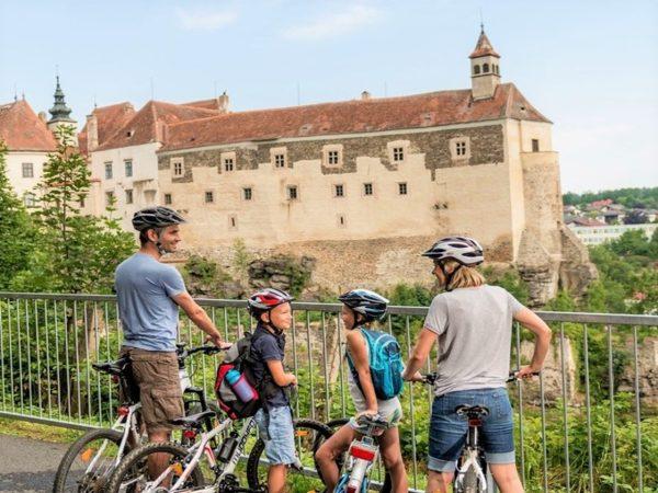 Moravské a Rakouské Podyjí - cyklistický zájezd