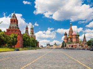 Moskva - Rudé náměstí a Chrám Vasilije Blaženého