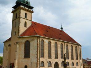 Most - Kostel na nanebevzetí Panny Marie