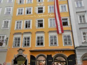 Salzburg - rodný dům Mozarta