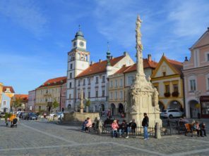 Náměstí v Třeboni 2