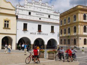 Náměstí v Třeboni
