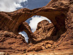 Národní park Arches - Double Arch