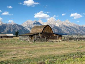 Národní park Grand Teton a obydlí mormonů