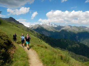 Na vysokohorské stezce z Blauspitze