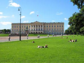 Oslo - královský palác