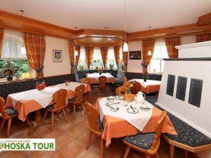 Penzion Alpenrose Maishofen - jídelna