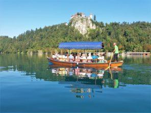 Pletna a Bledský hrad
