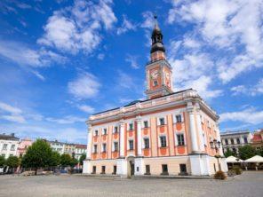 Lešno - městská radnice