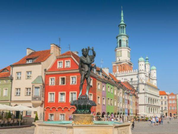 Náměstí v Poznani