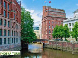 Poznávací zájezd do Německa - kanály v Hamburku