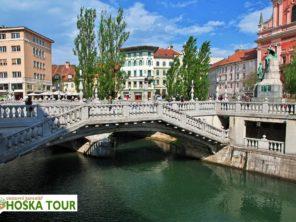 Poznávací zájezd do Slovinska - Lublaň