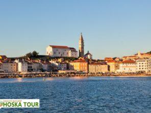Poznávací zájezd do Slovinska - město Piran