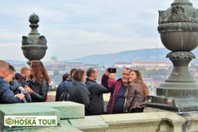 Poznávací zájezdy - terasa na bazilice