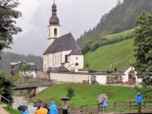 Kostelík v Ramsau