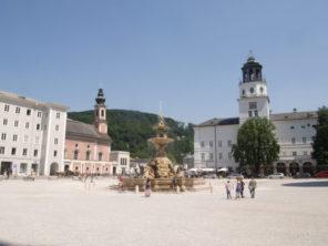 Rezidenční náměstí v Salcburku
