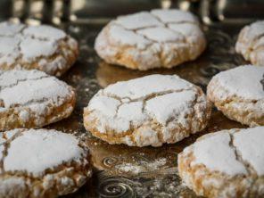 Ricciarelli - tradiřní toskánské sušenky