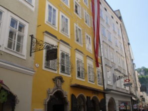 Rodný dům Mozarta