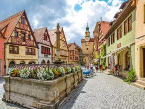 Rothenburg ob der Tauber - náměstí
