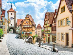Rothenburg ob der Tauber - historické centrum